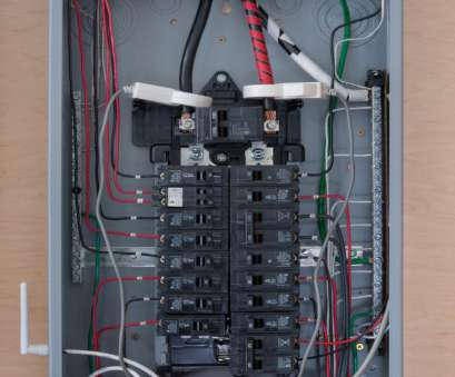 nice electrical panel wiring Sense installs in your home's electrical panel