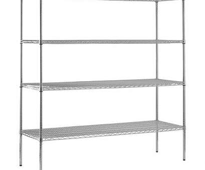 nsf black wire shelving Sandusky 74, H x 72, W x 24, D Chrome Wire Commercial Shelving Unit 13 Most Nsf Black Wire Shelving Solutions