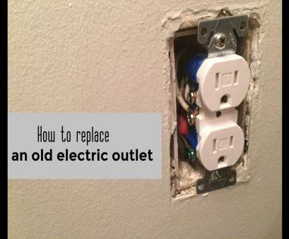 old electrical outlet wiring How to replace an, electric outlet, video Old Electrical Outlet Wiring Fantastic How To Replace An, Electric Outlet, Video Collections