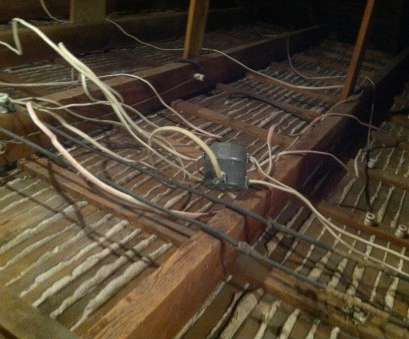 old residential electrical wiring Important Information About Residential Knob, Tube Wiring; Part 8 Professional Old Residential Electrical Wiring Images