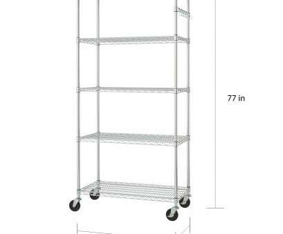 omega chrome wire shelving Shop Trinity 36-inch, Chrome Wire Shelving Rack, Free Shipping Today, Overstock.com, 6318665 Omega Chrome Wire Shelving Simple Shop Trinity 36-Inch, Chrome Wire Shelving Rack, Free Shipping Today, Overstock.Com, 6318665 Pictures