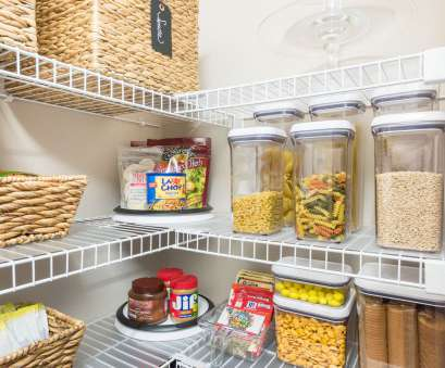 pantry ideas with wire shelving Organized pantry ideas, wire shelves #organization #pantryorganization #kitchenorganization 11 Fantastic Pantry Ideas With Wire Shelving Ideas