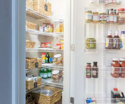 pantry ideas with wire shelving Organized pantry ideas, small reach-ins, Ideas, Pinterest Pantry Ideas With Wire Shelving Nice Organized Pantry Ideas, Small Reach-Ins, Ideas, Pinterest Images
