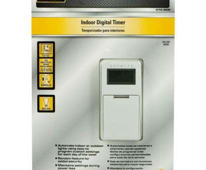 programmable light switch without neutral wire Defiant 5-Amp In-Wall Digital Timer with No Neutral Wire, Amazon.com Programmable Light Switch Without Neutral Wire Professional Defiant 5-Amp In-Wall Digital Timer With No Neutral Wire, Amazon.Com Collections