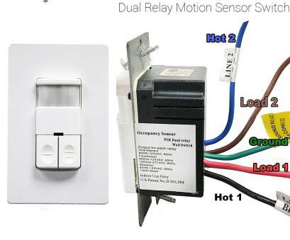 programmable light switch without neutral wire Enerlites DWOS-JD Dual Relay Occupancy Sensor Switch, Bi-Level,, Passive Programmable Light Switch Without Neutral Wire Best Enerlites DWOS-JD Dual Relay Occupancy Sensor Switch, Bi-Level,, Passive Ideas