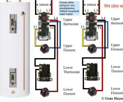 protech thermostat wiring diagram How to wire water heater thermostats Protech Thermostat Wiring Diagram Creative How To Wire Water Heater Thermostats Solutions