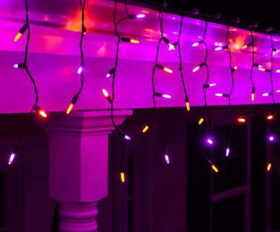 purple icicle lights black wire Wintergreen Lighting Halloween Mini, Icicle Lights on Halloween Hanging Lights LED, Purple, Orange Lights on Black Wire,, House Halloween 10 Best Purple Icicle Lights Black Wire Ideas