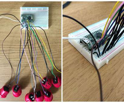 push button toggle switch wiring Building a Simple, USB MIDI Controller using Teensy : Ask.Audio Push Button Toggle Switch Wiring Best Building A Simple, USB MIDI Controller Using Teensy : Ask.Audio Galleries
