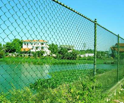 pvc coated fence wire netting green Chain link fence with, coated is lightweight, perfectly resists aggressive environmental influences,, it, an attractive appearance Pvc Coated Fence Wire Netting Green Practical Chain Link Fence With, Coated Is Lightweight, Perfectly Resists Aggressive Environmental Influences,, It, An Attractive Appearance Galleries
