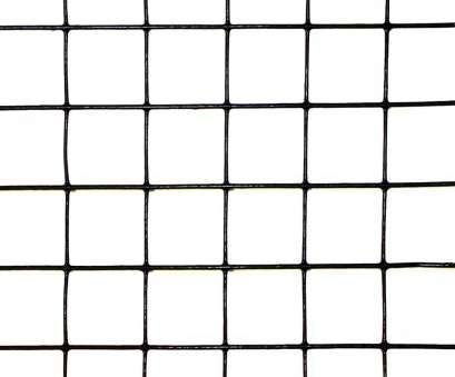 pvc coated galvanized wire mesh 3' x 100' Welded Wire-19, galvanized steel core; 17 ga after PVC-Coating, 1