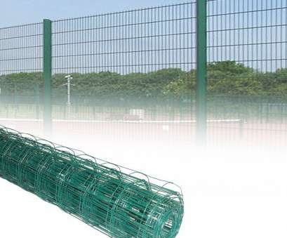 Pvc Coated Steel Mesh Fencing Wire Practical PVC COATED STEEL MESH FENCING WIRE GALVANISED NAIL SQUARE METAL FENCE POSTS NEW, EBay Collections