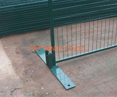 pvc coated wire mesh vancouver Temporary Construction Fence Panels, Canada standard 6'x9.5' 8'x9.5' mesh spacing4
