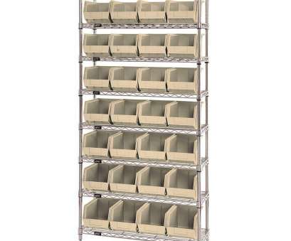 quantum chrome wire shelving Quantum Storage Systems WR8-239IV 8-Tier Complete Wire Shelving System with 28 QUS239 Quantum Chrome Wire Shelving New Quantum Storage Systems WR8-239IV 8-Tier Complete Wire Shelving System With 28 QUS239 Collections