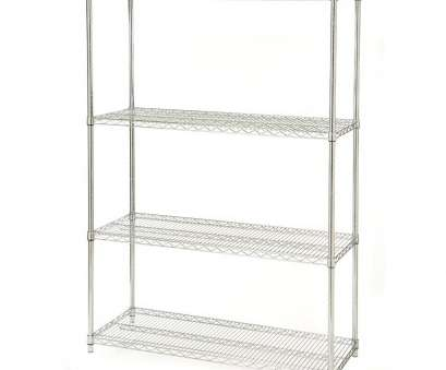 quantum storage wire shelving unit 48-inch Wide 4-Shelf Metal Storage Shelving Unit, 72-inch High Quantum Storage Wire Shelving Unit Professional 48-Inch Wide 4-Shelf Metal Storage Shelving Unit, 72-Inch High Ideas