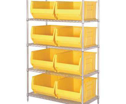 quantum storage wire shelving unit Bin Shelf Unit Lovely Quantum Storage Hulk, Shelving System, 36in, 48in W Quantum Storage Wire Shelving Unit Top Bin Shelf Unit Lovely Quantum Storage Hulk, Shelving System, 36In, 48In W Solutions