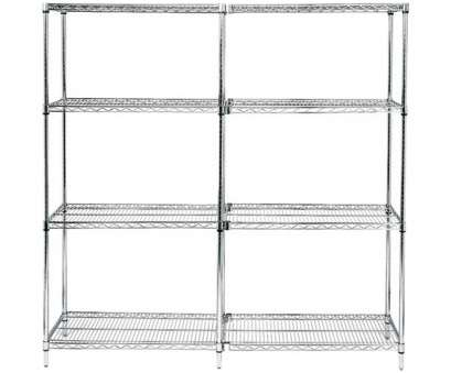 quantum storage wire shelving unit Quantum Storage Systems Wire 4-shelf Starter Unit -, x, x,, Chrome Quantum Storage Wire Shelving Unit Professional Quantum Storage Systems Wire 4-Shelf Starter Unit -, X, X,, Chrome Pictures