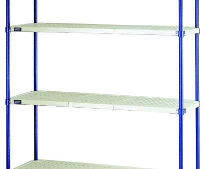 quantum storage wire shelving unit RPWR72-2436E Convenient 1, Wire Plastic, Shelving Unit, x, x 72