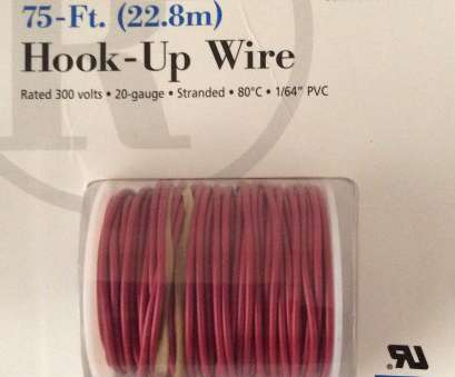 radio shack 22 gauge wire RadioShack 75-Ft. Hook-Up Wire, Type AWM, 20-Gauge, #278-1219 Radio Shack 22 Gauge Wire Practical RadioShack 75-Ft. Hook-Up Wire, Type AWM, 20-Gauge, #278-1219 Ideas