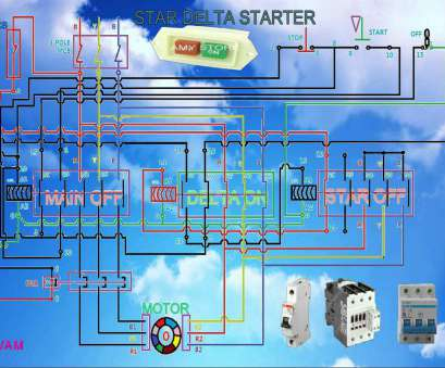 rdol starter wiring diagram Star delta starter working function, connection diagram 10 Practical Rdol Starter Wiring Diagram Ideas