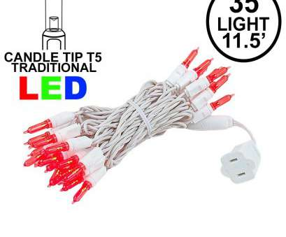 red led christmas lights with white wire Red 35 Light Traditional Candle, LED Christmas Lights on White Red, Christmas Lights With White Wire Fantastic Red 35 Light Traditional Candle, LED Christmas Lights On White Images