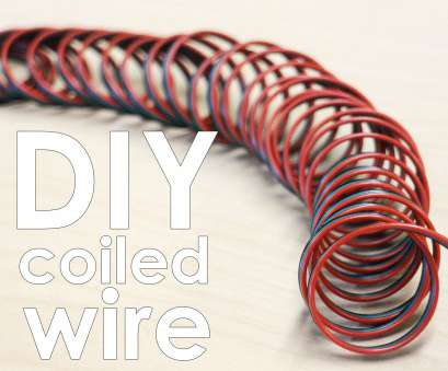 red electrical wire means Make Coiled Wire: 8 Steps (with Pictures) Red Electrical Wire Means Nice Make Coiled Wire: 8 Steps (With Pictures) Photos
