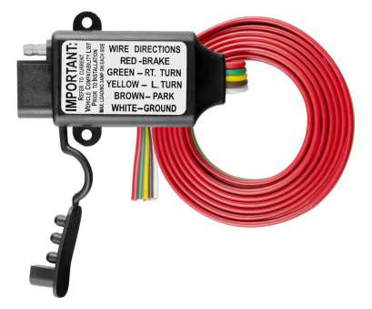 Red Electrical Wire, Sale Professional CURT Non-Powered 3-To-2-Wire Taillight Converter #55178 Galleries