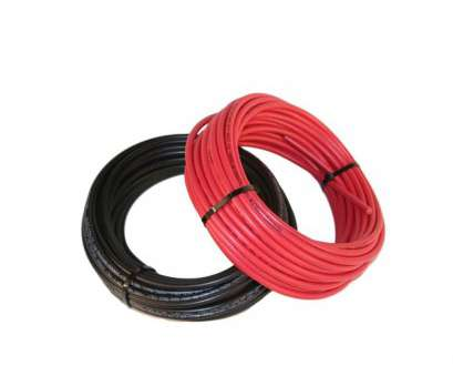 Red Electrical Wire, Sale Top SALE STARTING AT MIDNIGHT, RUNNING UNTIL UNTIL WE SELL, 50' Each Black +, Solar Panel Extension Cable Wire 10, 1000, Fast Shipping From Images
