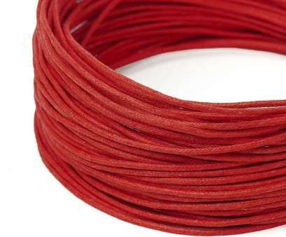 red electrical wire uk Voskovaná šňůra 1,5mm červená č.21 Red Electrical Wire Uk Fantastic Voskovaná Šňůra 1,5Mm Červená Č.21 Solutions