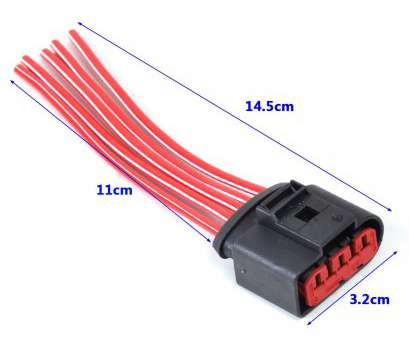 red wire electrical socket DWCX Mass, Flow Sensor 5, Connector Plug With, Wires 1J0973775A, VW Volkswagen Golf 2.0L 1999 2002001 Tracking-in Cables, Adapters & Red Wire Electrical Socket New DWCX Mass, Flow Sensor 5, Connector Plug With, Wires 1J0973775A, VW Volkswagen Golf 2.0L 1999 2002001 Tracking-In Cables, Adapters & Galleries
