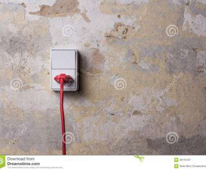 red wire electrical socket Socket With, Wire On Grungy Wall Stock Image, Image of insert Red Wire Electrical Socket Brilliant Socket With, Wire On Grungy Wall Stock Image, Image Of Insert Images