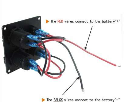 red wire in electrical panel 4 Function Waterproof, Car Voltmeter Panel With, Marine Boat RV Cigarette Lighter Outlet Cllena, Charger, Switch-in Volt Meters from Automobiles Red Wire In Electrical Panel Best 4 Function Waterproof, Car Voltmeter Panel With, Marine Boat RV Cigarette Lighter Outlet Cllena, Charger, Switch-In Volt Meters From Automobiles Solutions