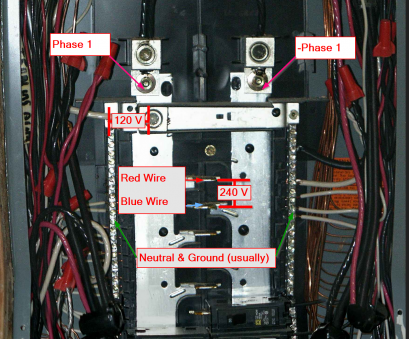 red wire in electrical panel ac -, Circuit Breaker, neutral, no ground?, Electrical Red Wire In Electrical Panel Top Ac -, Circuit Breaker, Neutral, No Ground?, Electrical Pictures