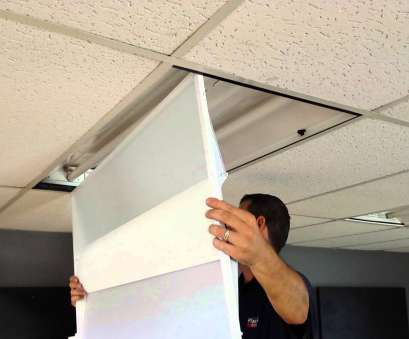 replace ceiling light panel Lighting Retrofit (2x4 Fixtures) Made Easy ! Replace Ceiling Light Panel Nice Lighting Retrofit (2X4 Fixtures) Made Easy ! Images