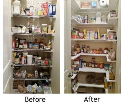 replace wire closet shelving Kitchen Pantry Makeover, Replace wire shelves with wrap around wood shelving, under $130 DIY 18 Brilliant Replace Wire Closet Shelving Galleries
