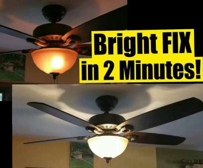 replacing a light fixture with a ceiling fan 2, FIX, Dim Ceiling, Lights, Safe, No Wiring, Wattage Limiter Stays!, YouTube Replacing A Light Fixture With A Ceiling Fan New 2, FIX, Dim Ceiling, Lights, Safe, No Wiring, Wattage Limiter Stays!, YouTube Collections