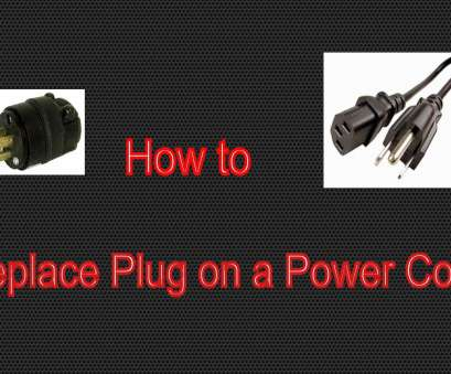 replacing electrical outlet with old wiring How to Replace 3 prong Plug on a Power Cord Replacing Electrical Outlet With, Wiring New How To Replace 3 Prong Plug On A Power Cord Images