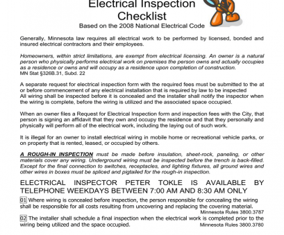 residential electrical wiring inspection notice concerning electrical wiring, inspections Residential Electrical Wiring Inspection Simple Notice Concerning Electrical Wiring, Inspections Images