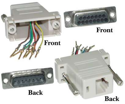 rj45 to serial wiring diagram Modular Adapter, Beige, DB15 Male to RJ45 Female, Part Number: 32D1 Rj45 To Serial Wiring Diagram Most Modular Adapter, Beige, DB15 Male To RJ45 Female, Part Number: 32D1 Pictures