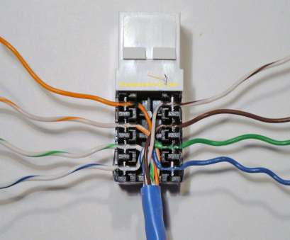 rj45 wall plug wiring diagram How to Install an Ethernet Jack, a Home Network 9 Best Rj45 Wall Plug Wiring Diagram Ideas