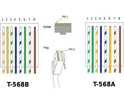 Rj45 Cat5e 568a Wiring Diagram - Catalogue of Schemas on