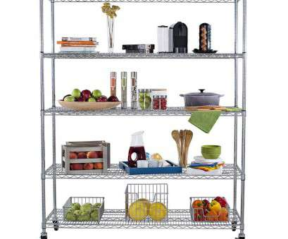 rolling chrome wire shelving Amazon.com: Trinity 5-Tier, Heavy Duty X-Large Wire Shelving Rack with Wheels, 60 by 24 by 72-Inch, Chrome: Home & Kitchen Rolling Chrome Wire Shelving New Amazon.Com: Trinity 5-Tier, Heavy Duty X-Large Wire Shelving Rack With Wheels, 60 By 24 By 72-Inch, Chrome: Home & Kitchen Collections