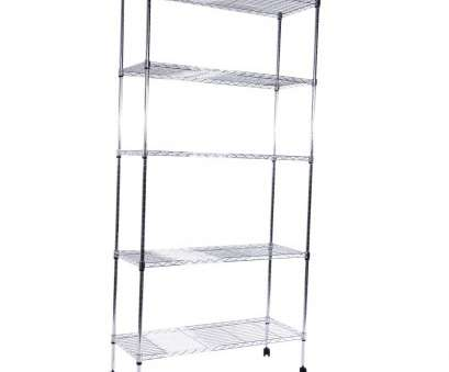 rolling chrome wire shelving Details about Commercial 5 Tier Shelf Adjustable Wire Metal Shelving Rack w/Rolling Chrome Rolling Chrome Wire Shelving Best Details About Commercial 5 Tier Shelf Adjustable Wire Metal Shelving Rack W/Rolling Chrome Collections