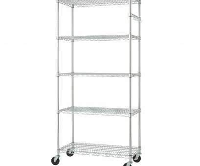rolling chrome wire shelving Shop Trinity 36-inch, Chrome Wire Shelving Rack, Free Shipping Today, Overstock.com, 6318665 Rolling Chrome Wire Shelving Nice Shop Trinity 36-Inch, Chrome Wire Shelving Rack, Free Shipping Today, Overstock.Com, 6318665 Collections