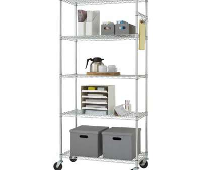 rolling chrome wire shelving Shop Trinity 36-inch, Chrome Wire Shelving Rack, Free Shipping Today, Overstock.com, 6318665 Rolling Chrome Wire Shelving Professional Shop Trinity 36-Inch, Chrome Wire Shelving Rack, Free Shipping Today, Overstock.Com, 6318665 Galleries