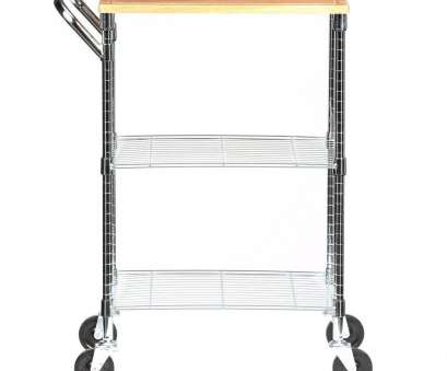 rolling wire shelves Honey-Can-Do 2-Shelf Steel Wire Rolling Chopping Block Cart with Handle In Chrome Rolling Wire Shelves Professional Honey-Can-Do 2-Shelf Steel Wire Rolling Chopping Block Cart With Handle In Chrome Pictures