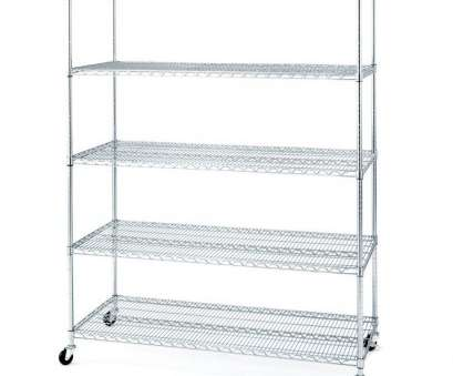 rolling wire shelves ..., inch increments giving, just, right height between shelves. Four caster wheels allow, easy maneuverability, placement in your room Rolling Wire Shelves New ..., Inch Increments Giving, Just, Right Height Between Shelves. Four Caster Wheels Allow, Easy Maneuverability, Placement In Your Room Photos