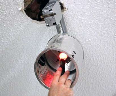 rough wiring recessed lights How to Install Recessed Lighting, how-tos, DIY Rough Wiring Recessed Lights Practical How To Install Recessed Lighting, How-Tos, DIY Collections