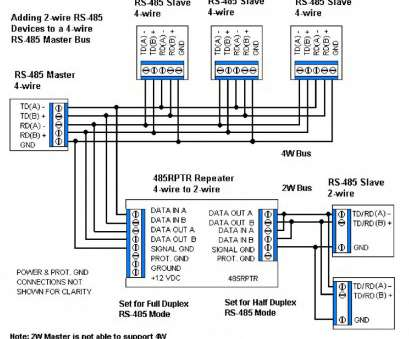 Rs485 Rj45 Wiring Diagram Creative Rs485 2 Wire Diagram Schematics Wiring Diagrams U2022 Rh Seniorlivinguniversity Co RS, Wiring Examples RS Photos