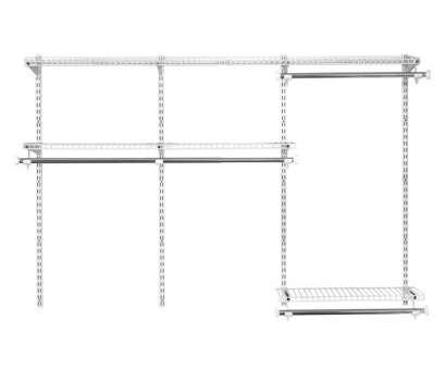 rubbermaid homefree wire shelving Rubbermaid HomeFree 3-ft to 6-ft White Adjustable Mount Wire Shelving Kit Rubbermaid Homefree Wire Shelving Professional Rubbermaid HomeFree 3-Ft To 6-Ft White Adjustable Mount Wire Shelving Kit Galleries