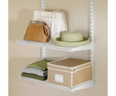 rubbermaid wire shelving walmart Rubbermaid FG3H9103WHT Configurations™ Closet Shelf, White, Walmart.com 9 Brilliant Rubbermaid Wire Shelving Walmart Galleries
